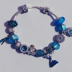 Cinderella charm bracelet.